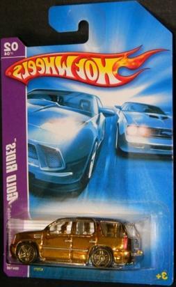 Hot Wheels '07 Cadillac Escalade Gold Rides Series, Pr5 Whee
