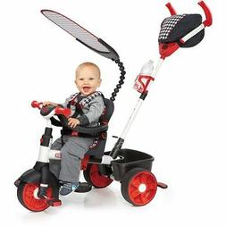 Little Tikes 4-in-1 Trike Ride On, Red/White, Sports Edition