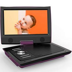 """ieGeek 11"""" Portable DVD Player with 360° Swivel Screen, D"""