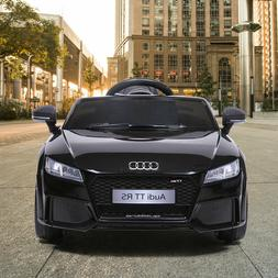 12 Volt Electric Kids Ride On Cars Audi TT License with Remo