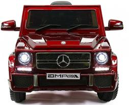 12 Volts Ride On Toy Car Mercedes Benz Truck G65 Remote Cont