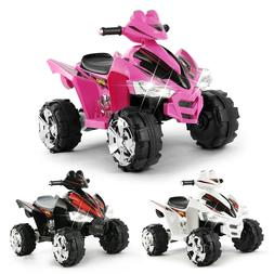 12V Battery Electric Kids Ride On ATV Quad Car 4Wheel Toy Mu