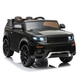 12V Black Kids Ride on Car Truck Toys Electric 3 Speeds MP3