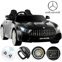 Kids 12V Electric Mercedes Benz Ride On Toy Cars Remote Cont