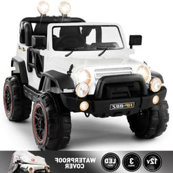 12V Electric Battery Kids Ride on Car Truck Toys LED MP3 w/R
