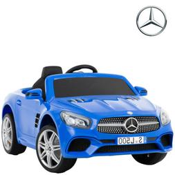 12V Electric Mercedes Benz SL500 Kids Ride On Toy Cars RC &