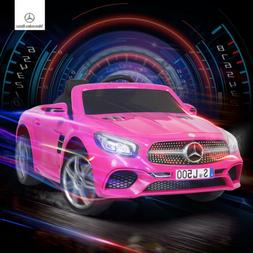 12V Electric Kids Ride On Toy Cars Mercedes Benz SL500 6 Spe