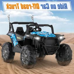 12V Electric Kids Ride on Truck Car Off-road Vehicle Toy Mus