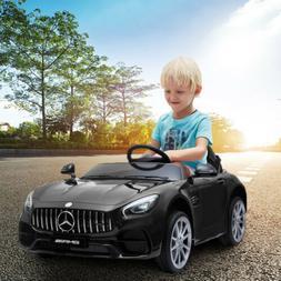 12V Electric Mercedes-Benz Kids Ride On Car Toys USB MP3 LED