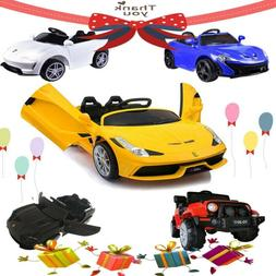 12V Kid Ride on Sport Car/Jeep Car Toy Electric Battery Remo