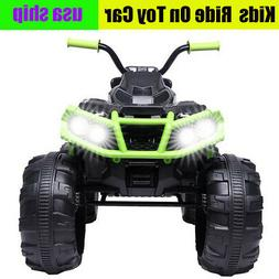 12V Kids Electric ATV Ride On Toy Car Battery w/ 2 Speeds LE
