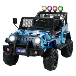 12V Kids Electric Ride on Car Battery Toys Suspension with R