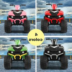 12V Kids Ride On 4-Wheeler Car Electric Battery Powered Toy