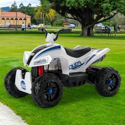12V Kids Ride On ATV Car Quad Electric 4 Wheeler Toy W/ Led