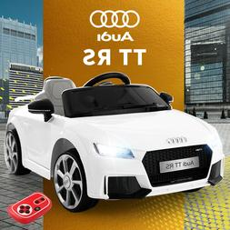 12V Kids Ride On Audi TT RS Licensed Toys Racing Car 2 Motor