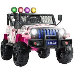 12V Kids Ride on Car Electric Battery Toys Supspension With
