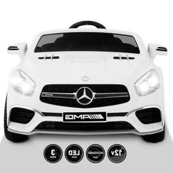 12V Kids Ride On Car Toy Double Seat SL65 Licensed Mercedes