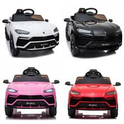12V Kids Ride on Car Toys Battery Power Wheels Light Remote