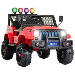 12V Kids Ride on Car Toys Electric Battery Suspension With R