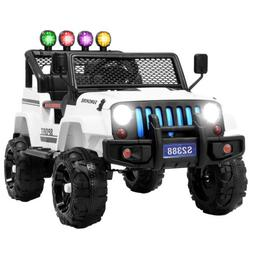 12V Kids Ride on Car Toys Electric Battery Suspension w/ Rem