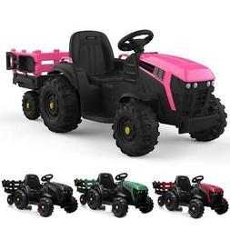 12V Kids Ride On Car Tractor Truck Battery Power 2 Speeds La