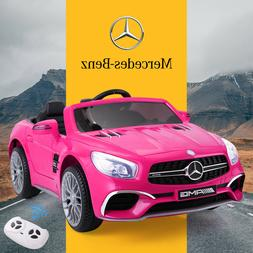 12V Kids Ride On Mercedes Benz Electric Car 3 Speed Remote C