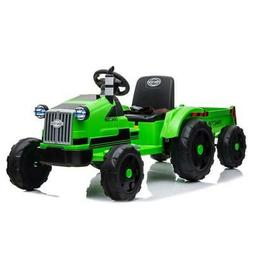 12V Kids Ride On Tractor Car Toys MP3 2 Speed with Large Tra