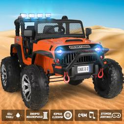 12V Kids Ride on Truck Car Electric Jeep Toy Spring Suspensi