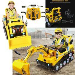 12V Kids 2.4G Ride-On Truck Car Toy W/3 Speeds LED Light MP3