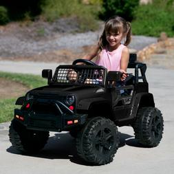 Best Choice Products 12V Kids Ride On Truck Car w/ Parent Re