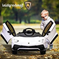 12V Lamborghini Kids Ride on Car Children's Electric Toy Bat