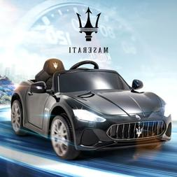 Maserati 12V Kids Ride On Car Toy Cabrio Electric  Vehicles