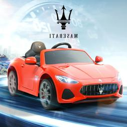 12V Maserati Gran Cabrio Kid Ride On Car Toy Electric Batter