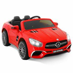 12V Mercedes-Benz Kids Ride On Cars Electric Battery Toy Rem