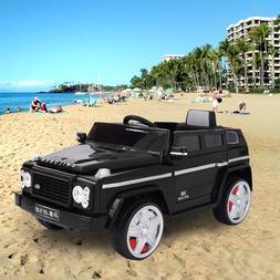 12V MP3 Kids Ride On Car Battery Power Truck Wheels RC w/Rem