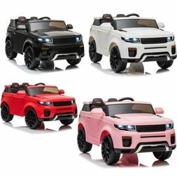 12V Pink Kids Ride on Car Truck Toys Electric 3 Speeds MP3 L