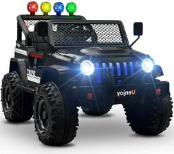 12V Remote Control Kids Ride on Toy Car Wrangler Electric Ba