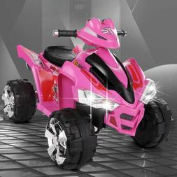 12V Ride On Car ATV Quad Kids Electric Toy 4 Wheeler LED Lig