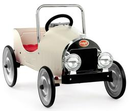 Baghera 1941 Classic Kids Pedal Car Ride On White 3-6 Years