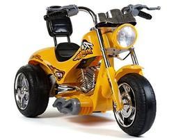 Super Chopper New Red Hawk Motors 12v Kids Ride on Bike / Mo