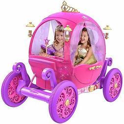 24V  Disney Princess Carriage Ride-On Electric Cars Kids Rid