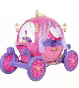 24V  Disney Princess Carriage Ride-On Electric Cars Kids Rid