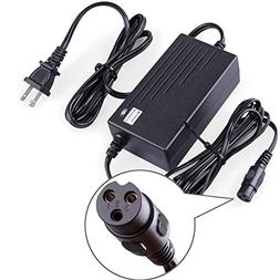 LotFancy 24V 2A Scooter Battery Charger, for Razor E300, E20