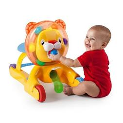 Bright Starts 3 In 1 Step 'n Ride Lion Ride on Toy Infant Pl