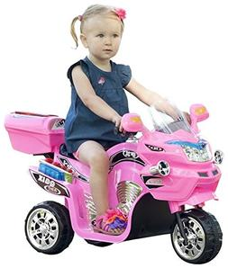 ROCKIN' ROLLERS 3 Wheel Battery Powered FX Sport Bike - Pink