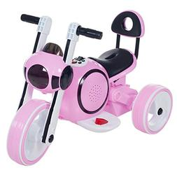 3 Wheel LED Mini Motorcycle , Ride on Toy for Kids by Rockin