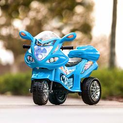 Kids 6V Battery Powered Motorcycle 3 Wheeler Bike Scooter To