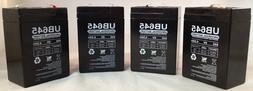 6V 4.5AH Rechargeable Sealed Lead Acid  Battery for Exit Lig