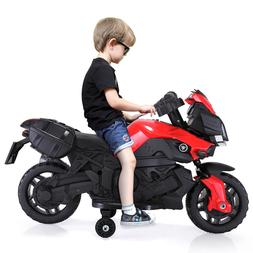 Kids Electric Motorcycle Car 6V Bike Battery Powered 4 Wheel