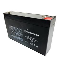Best Ride On Cars 6 Volt 7Ah Battery Replacement for Kids Ri